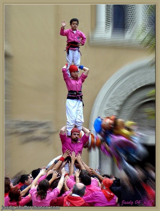photoblog image Castellers #02